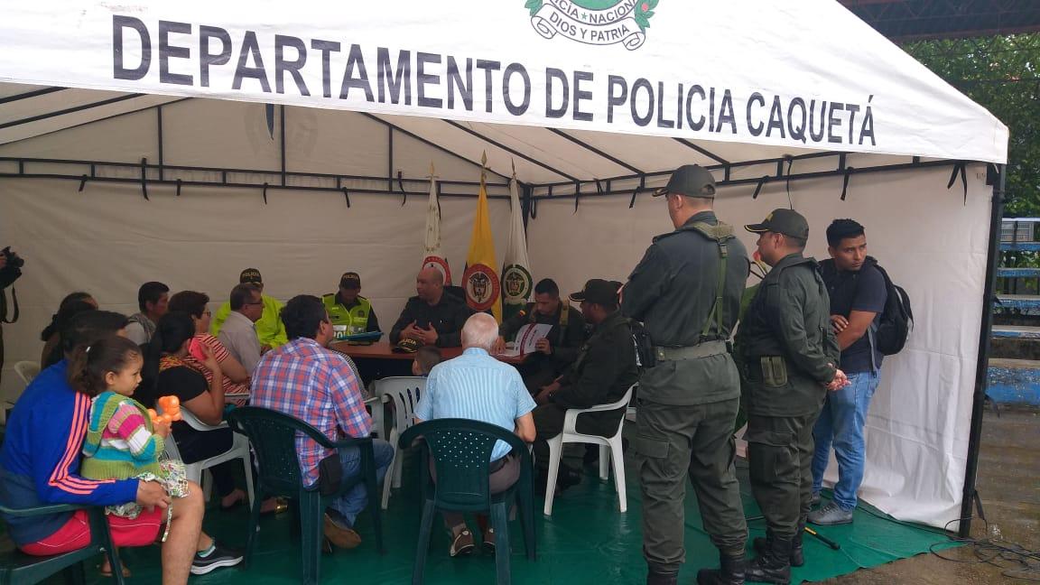 """Con la estrategia """"Comando Situacional"""" la policía trabaja desde los barrios de Florencia"""