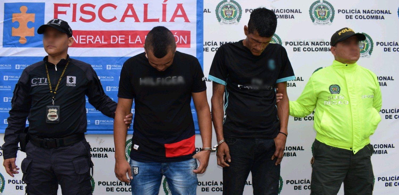 Capturados sindicados de homicidio