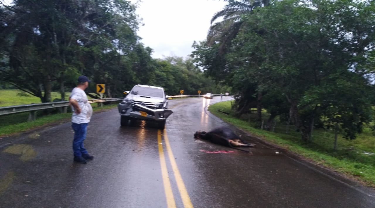 Dos accidentes en la vía Morelia Belén