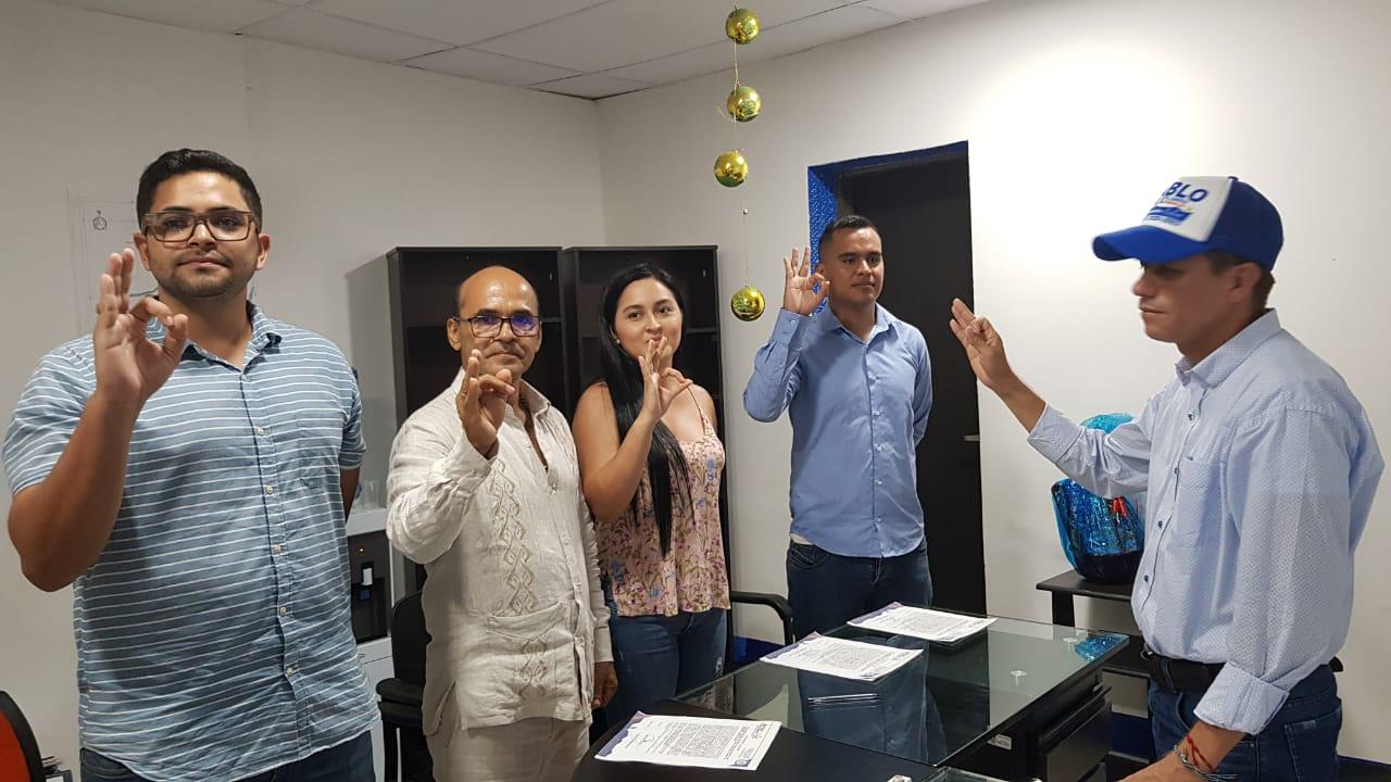Nuevo gabinete de la Montañita Caquetá