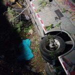 Aparatoso accidente de bus de Transyarí