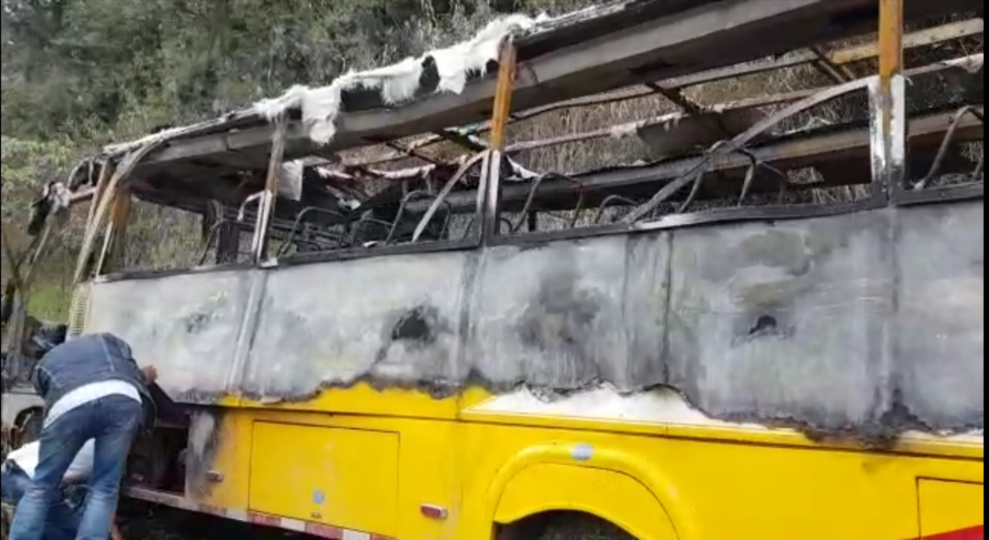 Accidentes en la antigua vía Neiva-Florencia