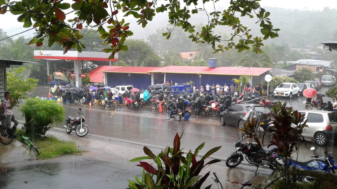 Pico y placa en Belén para venta de combustibles